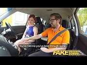 fake driving school instructor fucks and creampies sexually.
