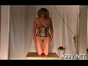 Tits castigation and love tunnel bdsm toying for woman in heats