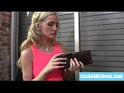 thumb Blonde Meets Up   With Her New Black Lover Lac Black Lover Lack Lover