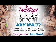 Twistys - Lora Craft starring at Fingers Like Daggers