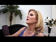 Two horny freaky lesbians like mum &amp_ daughter fucking around in hot sex hardcore