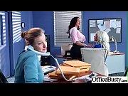 (Ava Addams &amp_ Riley Jenner) Big Tits Horny Office Girl Get Nailed Hardcore vid-04