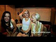 Lesbian Threesome FULL SCENE - 3 Horny College Girls Have Girl on Girl Sex