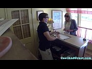 Faketitted tramp doggystyle pounded