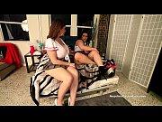 Busty Angelina Castro &amp_ Sara Jay School Girls Masturbation!