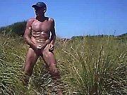 cock slap outdoor erection nude walk