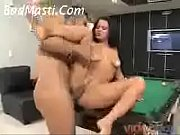 Cute Latina gets fucked in the Pool table