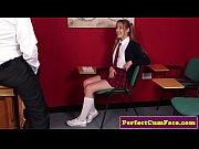 thumb British Schoolg irl Jerking Dick In Classroom k In Classroom