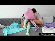 Hot Sex Action With Naughty Lesbian Girls (Dillion Harper &amp_ Jenna Sativa) vid-17