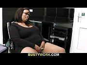 Big black fatty seduces white man