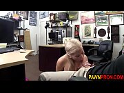 Pretty in Pink Fucked in Pawnshop Office