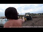 incredible teens nude on neighborhood construction.