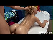 Sexy eighteen year old sucks and bonks her massage therapist