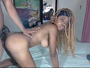 ebony teen doggy fuck till cum on ass