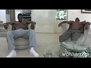 Excited ebony bitch gets double permeated by two gangstas