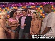 Claire Dames Sucking Big Black Cock BlowJob Winner