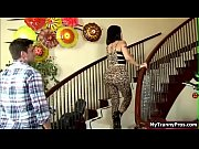 Busty TS gets her ass fucked by her bfs