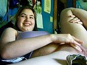 thumb big squirting orgasm on webcam
