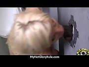 Ebony'_s First Gloryhole Blowjob and Cum Swallow 9