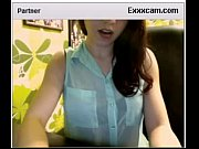Virgin beauty on webcam for first time!
