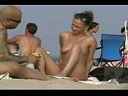 Long voyeur video of amateurs on the beach! - tightpussycam.com