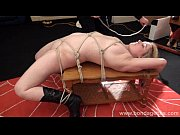 blonde bondage babe amber west as damsel in.