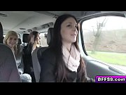 Sexy college teens enjoy hot fuck on a road trip