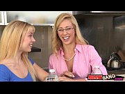 Busty milf Cherie Deville and teen cutie Lucy Tyler threeway