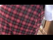 Schoolgirl girlfriend rubbing dick in her face