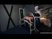 You Can 039 t Get Away Miss Jessica Wood and Miss Hunter Whipping Loud Slave