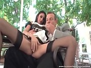 Hot maid gets licked by her boss