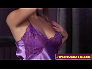 British nighty babe doggystyled before facial