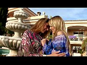 Hotties Klaudia and Beatrice from Sapphic Erotica hot fingering outdoors