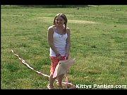 cute 18yo teen kitty flying a.