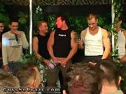 Naked men gym party and gay group cum Dozens of men go bananas for