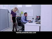 New Girl Zoey Monroe Gets Ass And Pussy Filled From Competing Interracial Guys At Work