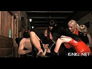 mean femdom-goddess wraps up her serf and tortures.