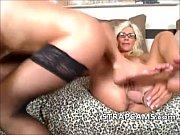Blonde milf lesbians toying on webcam