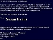 susan evans takes care of sons.
