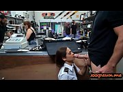Hot latina stewardess railed by pawn man in the toilet