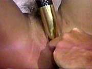 wife plays with dildo then husband fucks her