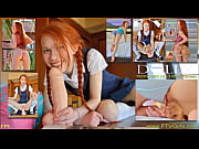 dolly little petite redhead masturbating