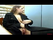 Hottie UrSavannah masturbating in the library