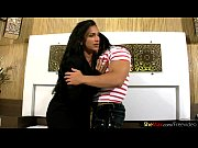 Latina femboy in red stockings rides and jumps on hard cock