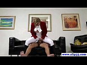 Teen amateur in tights pounded by old man