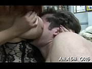 Needy arse milf with huge tits smothering porn with her man