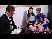 Mormon teens 3way jizzed