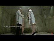Nurse in threesome bondage slave sex