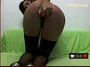 Big tits brunette toys pussy to orgasm Youngcamgirl.com
