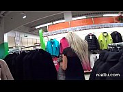 Perfect czech cutie is seduced in the mall and banged in pov